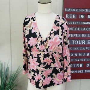 Parisian Signature | M silk blend floral